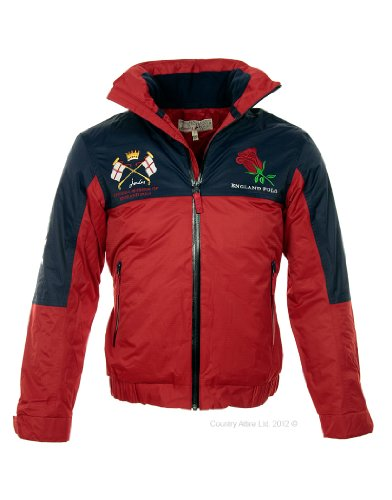 Joules Men's England Polo Jacket - Red N_ENGPJACKET - M