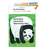 img - for Bill Martin Jr, Eric Carle'sPanda Bear, Panda Bear, What Do You See? (My First Reader) [Hardcover](2011) book / textbook / text book