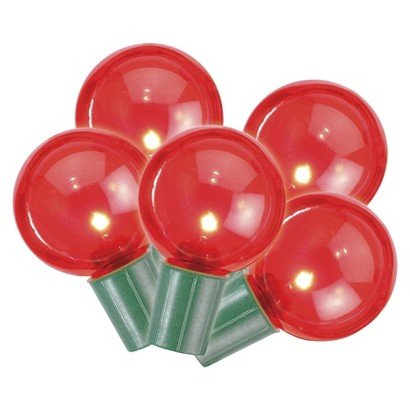 Philips 25Ct Red Led Smooth Globe G40 String Lights