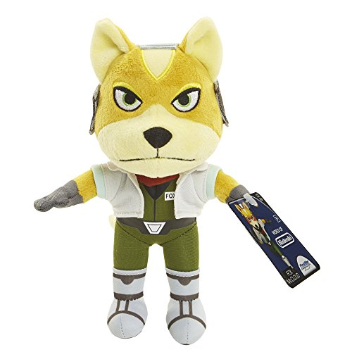 World of Nintendo 88794 Star Fox Mario Bros U Plush