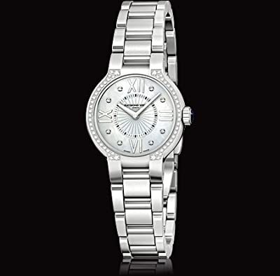 Raymond Weil Women's 5927-STS-00995 Noemia Mother-Of-Pearl Diamond Dial Watch
