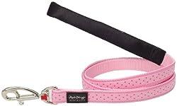 Love Sprinkles Pink Dog Lead by Red Dingo