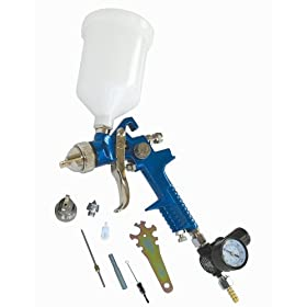 Tool Force A-C1 50 PSI 2-in-1 HVLP Spray Gun