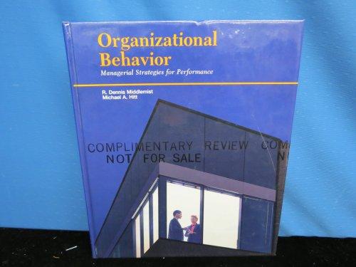 Managing Organizational Behavior (Irwin Series in Management and the Behavioral Sciences)