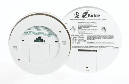 how to open batterie comparent on a kidde smoke detectors