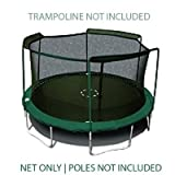 Sportspower 15' Trampoline Net - 3 Arches with Straps