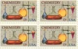 Chemistry Set of 4 x 13 Cent US Postage Stamps NEW Scot 1685 by USPS