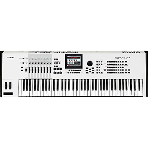 Fantastic Deal! Yamaha MOTIFXF7 WH 76-Key Music Production Synthesizer, White