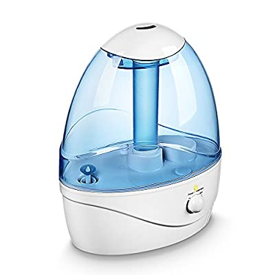Seneo 2.5L Cool Mist Ultrasonic Humidifier Air Purifier with 12 Hour Working Time, Automatic Shut-off Function, Personal Night Light for Baby Room Home Bedroom and Office
