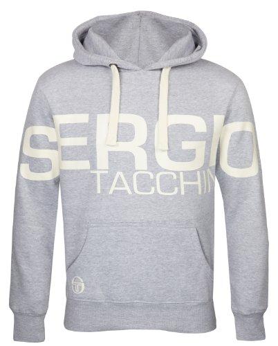 Sergio Tacchini Boys Fleece Lined Logo Hoody Medium Gray front-196149