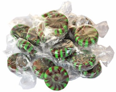 Candy Chocolate Mint Starlights by Colombina, 2LB