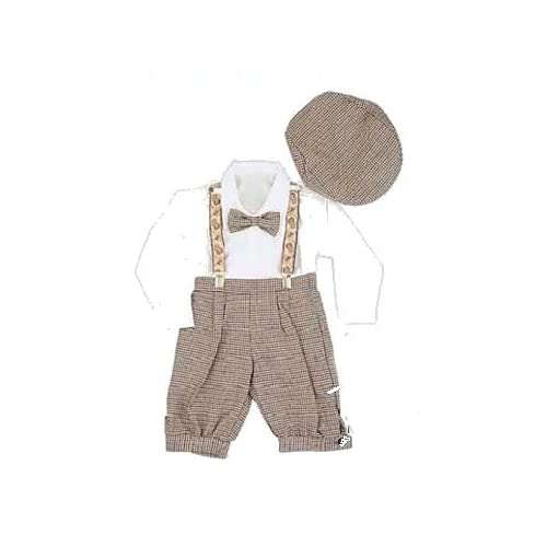 Boys Vintage Style Knickers Outfit 5-pc