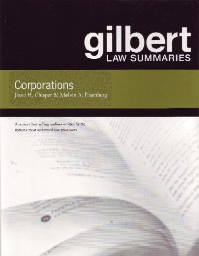 Gilbert Law Summaries on Corporations, 15th