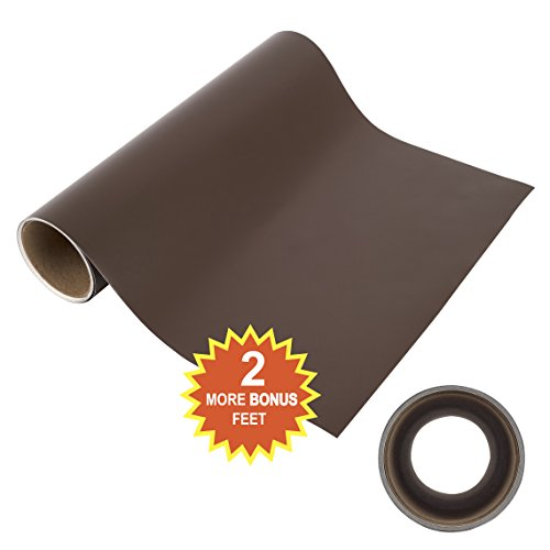 Angel Crafts 12 Quot By 8 Brown Self Adhesive Vinyl Roll With
