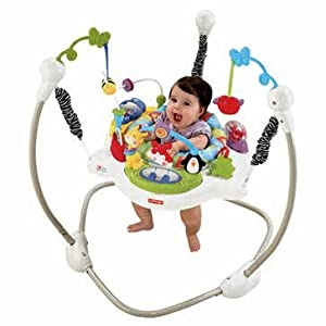 Unrivalled Fisher-Price Discover N Grow Jumperoo - Cleva Edition ChildSAFE Door Stopz Bundle
