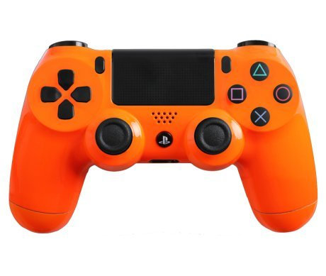 Custom Playstation 4 Controller Special Edition Glossy Orange Controller