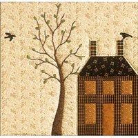 Quilted Village #12 - Sturdy Brick