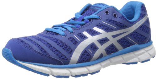Asics Men's Gel Zaraca Navy / Silver / Malibu Running Shoes 9.5 UK