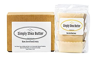 Shea-butter Unrefined-organic African-Ivory Shea Butter Sticks - Microwaveable and Recyclable