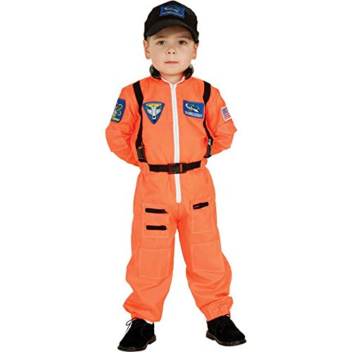 Kid's Astronaut Flight Suit Costume (Medium 8-10)