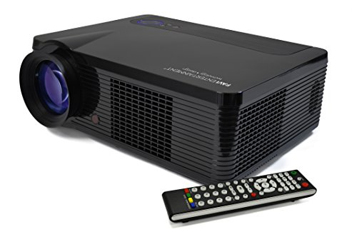 """Favi Riohd-Led-3T Home Theater Projector With 150"""" Picture"""