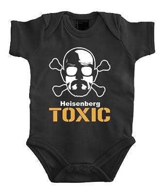 Touchlines - Heisenberg Toxic Babybody 56, Black