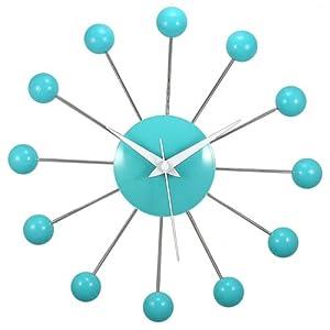 Timekeeper 11.5 Inch Spider Clock