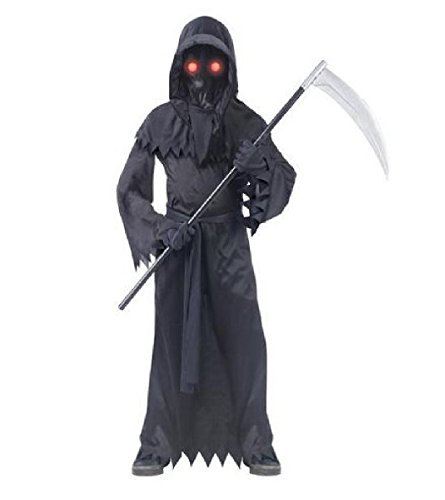 Totally Ghoul Eye Reaper Boys' Halloween Dress Up Costume