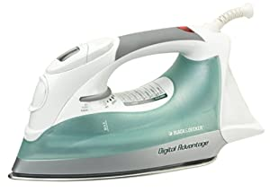Black & Decker D1500 Digital Advantage Iron