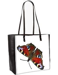 Butterfly Obo, Shoulder Bag Tote Faux Leather Handbag Satchel Tote
