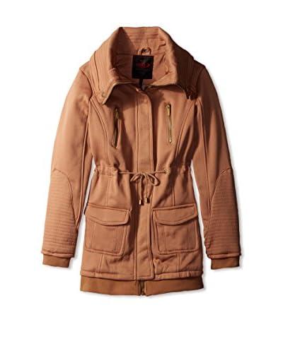 Yoki Women's Anorak Fleece Jacket  [Camel]