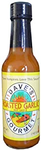 Daves Gourmet Roasted Garlic Hot Sauce from Dave's Gourmet