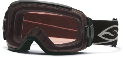 Smith Optics Vice Goggles, Black, Polarized Rose Copper