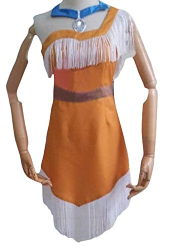 Ace Halloween Adult Women's Sexy Pocahontas Indian Princess Costumes