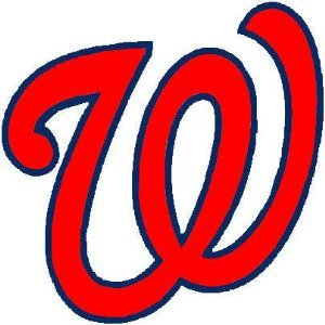 Washington Nationals Logo Wall Decal Bumper Sticker 4