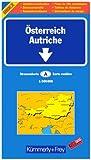 echange, troc Cartes Kümmerly + Frey - Carte routière et touristique : Autriche