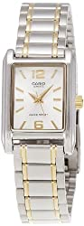 Casio Enticer Analog Silver Dial Womens Watch - LTP-1235SG-7ADF (A360)