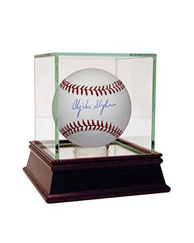 "Steiner Sports Memorabilia Andy Van Slyke Signed MLB Baseball, 5"" x 5"""