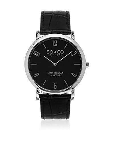 So&Co New York Reloj de cuarzo Man Men'S Slim Watch 39 mm