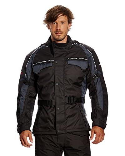 Roleff Racewear Giacca Moto [Nero/Grigio]