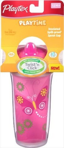 Playtex Insulator & Playtime Cup, 9 Oz. by Playtex (Playtex Insulator Valves compare prices)