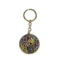 Dooney & Bourke Retro Keychain Black Multicolor