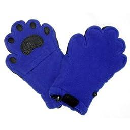 Bear Hands YF1000CBL Youth Large Fleece Mittens - Cobalt Blue