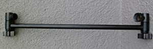 """15"""" Locking Shower Head Extension Arm in Oil Rubbed Bronze"""