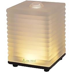 Diffusore oli essenziali Elettrico Aromaterapia Free con LED 13 cm