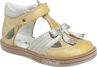 Kickers Infant/Toddler Girls' Trisha,Yellow Multi Leather,EU 23 M