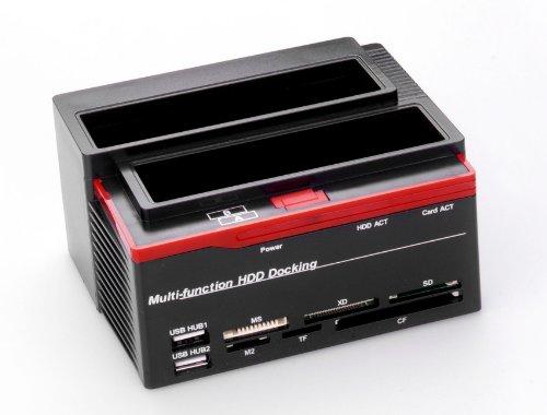 ronsen-892u-hard-disk-drive-docking-station-usb-20-dual-port-stations-daccueil-pour-disque-dur-25-35