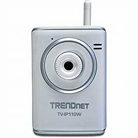 TRENDnet Wireless Internet Camera Server (TV-IP110W)