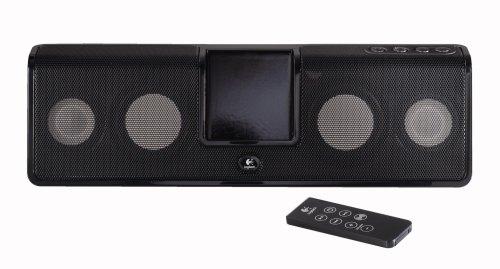 Logitech Mm50 Portable Speaker System For Ipods (Black)