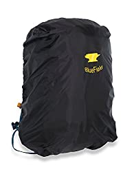 BlueField Outdoor Backpack Rain Cover Bag for Hiking Camping Water-resistant Black L:45cm x 80cm x 24cm